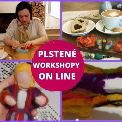ON LINE webinár - Plstená bábika