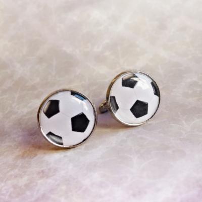 manžetové gombíky futbalová lopta
