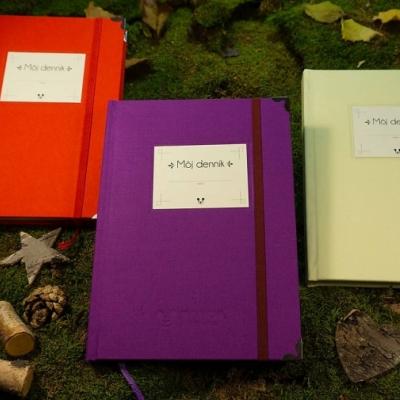 PANDA handmade Môj denník