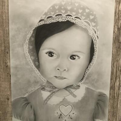 Dievčatko s čepčekom
