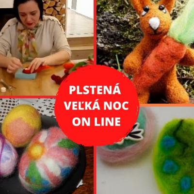 ON LINE webinár - Plstená Veľká noc