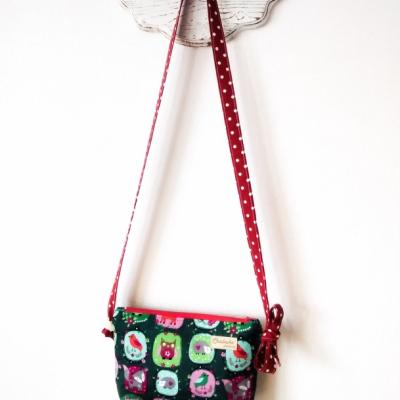 Detská kabelka, Zvieratká na zelenej