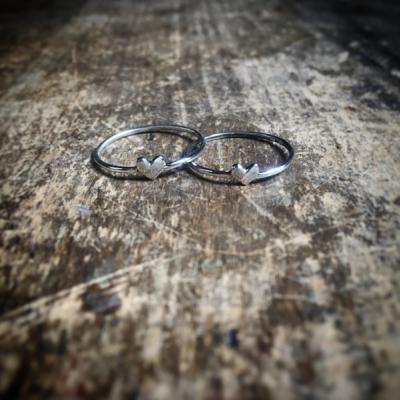 Minimalistický prsteň Srdiečko