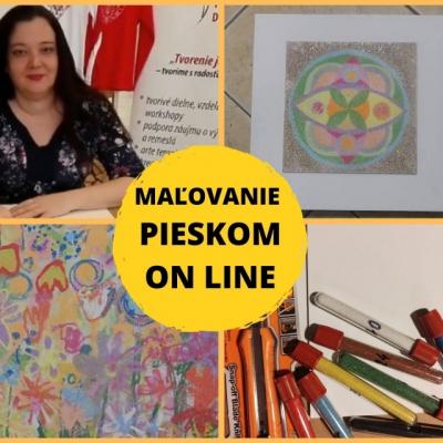 ON Line webinár - Maľovanie pieskom