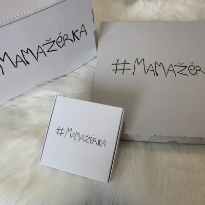 Mikina #MAMAŽéRKA