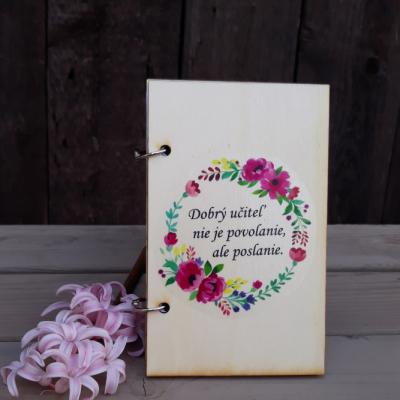 Zápisník - učiteľ