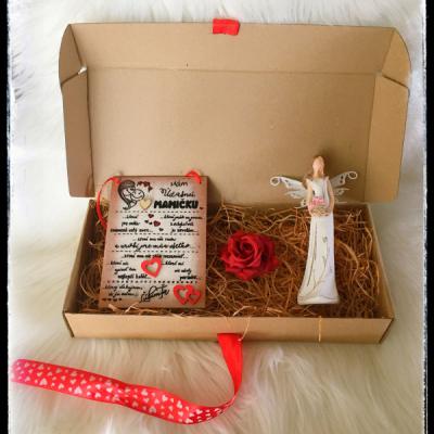 Darčeková krabicka pre mamičku