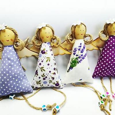 Levanduľové anjeliky