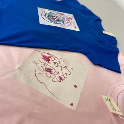 Tričko s detskou kresbou