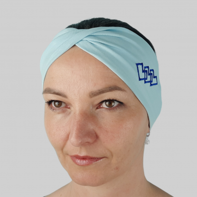 Dámska Folklórna Čelenka Modrá