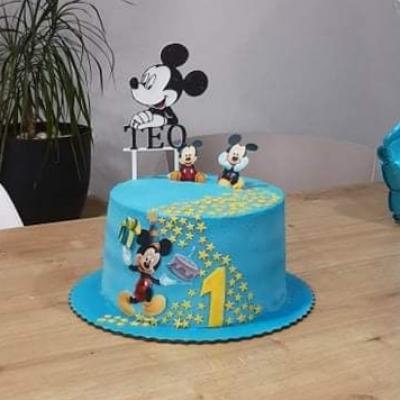 Zápich na tortu Mickey