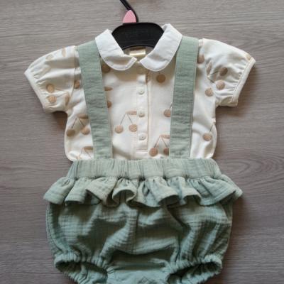 Mušelínové nohavice pre bábätká