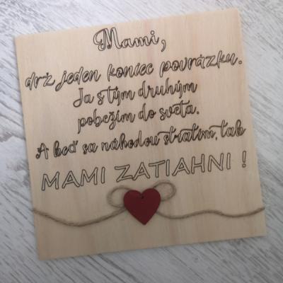Tabuľka pre mamu