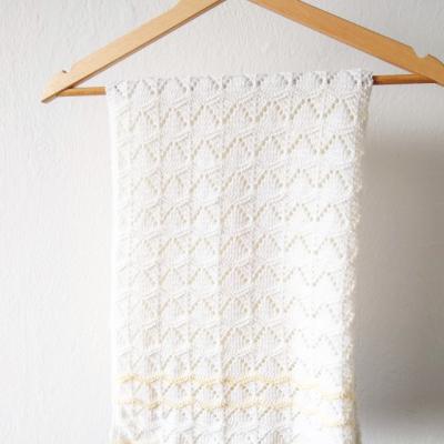 Pletená deka VERONIKA - 100% merino