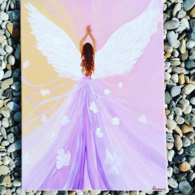 Anjel ružový
