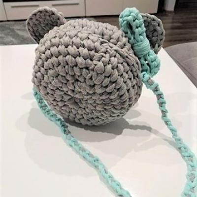 Háčkovaná kabelka Minnie