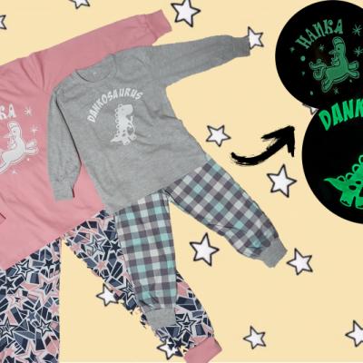 Svietiace detské pyžamo