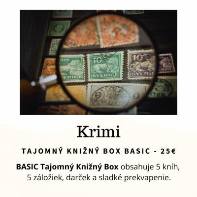 Tajomný knižný Box - Krimi