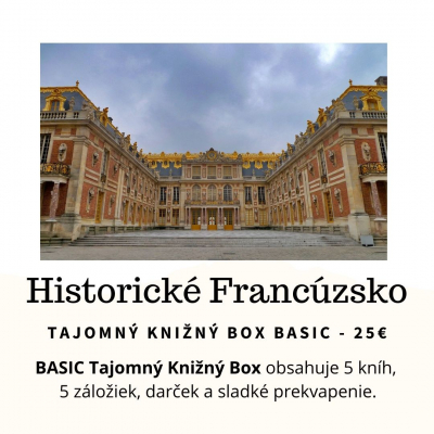 Tajomný knižný Box - Historické Francúzsko