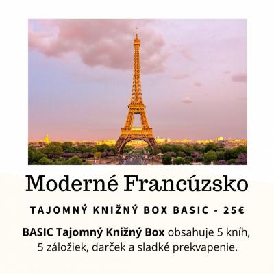 Tajomný knižný Box - Moderné Francúzsko