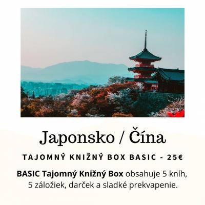 Tajomný knižný Box - Japonsko / Čína