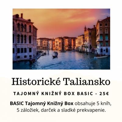 Tajomný knižný Box - Historické Taliansko