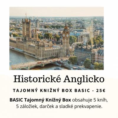 Tajomný knižný Box - Historické Anglicko