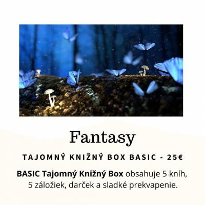 Tajomný knižný Box - Fantasy