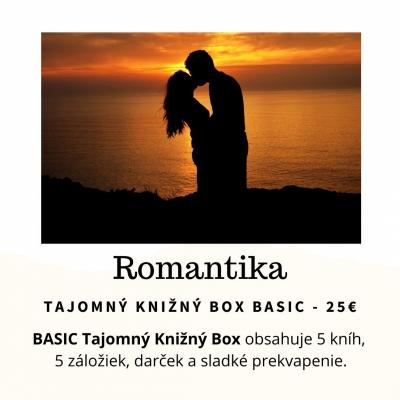 Tajomný knižný Box - Romantika