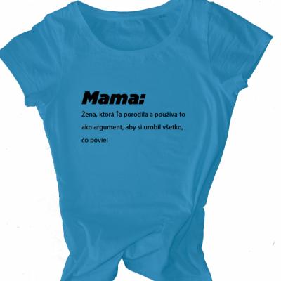 MAMA - argument