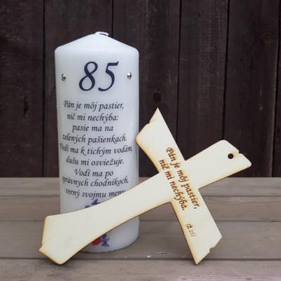 Sviečka a krížik