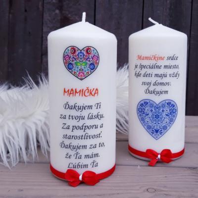 Sviečka pre mamičku
