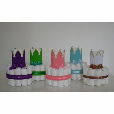 Plienková torta - rôzne farby