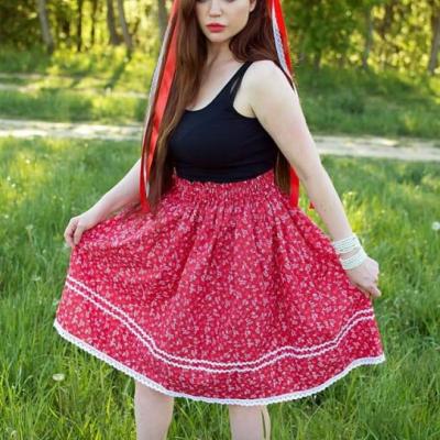 Folklórna sukňa Alenka
