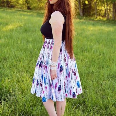 Lahučká sukňa