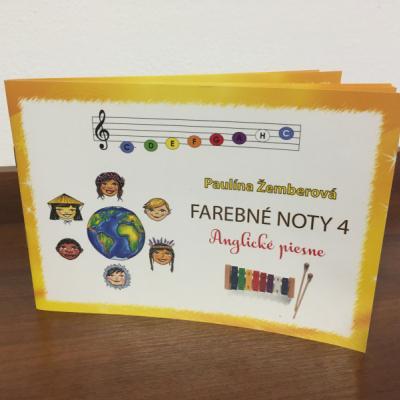 Farebné noty 4 - Anglické piesne (klavír, xylofón, kalimba)