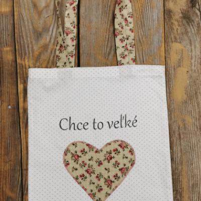 Textilné nákupné tašky pre pani učiteľky