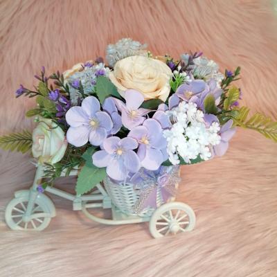 Kvety vo vozíku