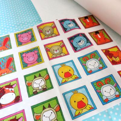 Kreatívna sada UŠI SI SÁM - Textilné pexeso (na výber sady - Zvieratká z lesa, z dvora, z exotiky)