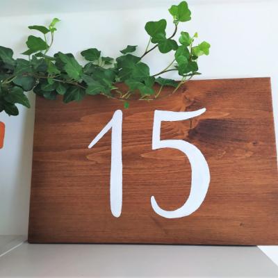 Súpisné číslo - tabuľka
