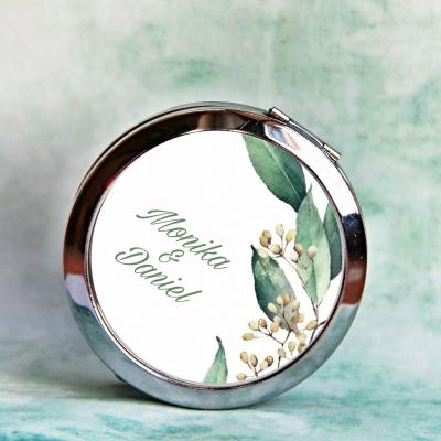 zrkadielko Greenery 2 - text na želanie
