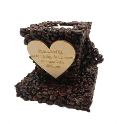Svietnik kávová šálka – PANI UČITEĽKA