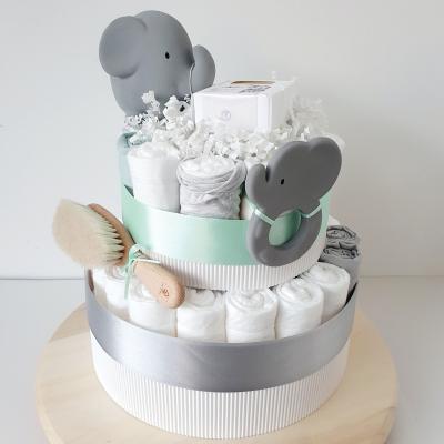Plienková torta -  sivý sloník