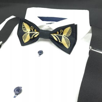 Motýlik a Traky Zlatý Vyšívaný