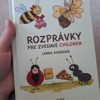 knižka Rozprávky pre zvedavé CHILDREN