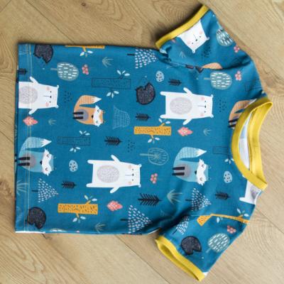 "Chlapčenské tričko ""Veselý les"" 104, 110"