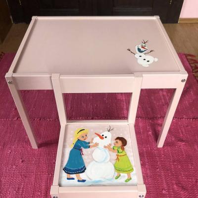 Stolík a stolička pre deti