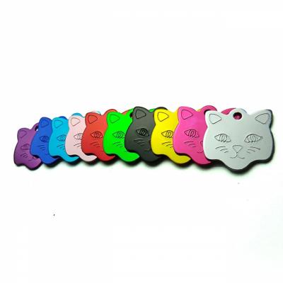 Mačička 23x23mm hliník