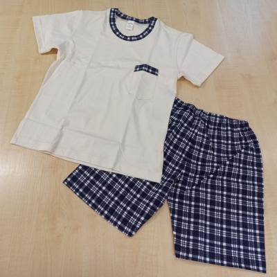 Chlapčenské bavlnené pyžamo krátke