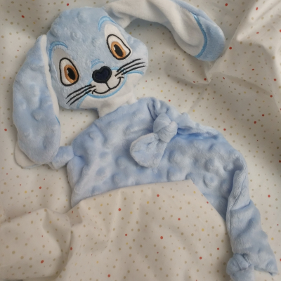 Mojkáčik modrý zajačik s menom